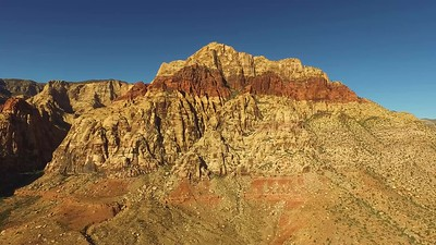 6 North Peak dominates the view at Red Rock Canyon