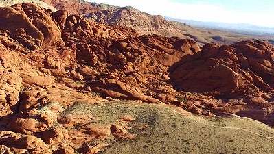 7 Flying South from Calico 1 overlook