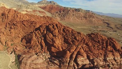 13 Farewell high flights over Calico Rocks