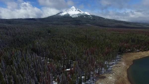 4 Mount McLoughlin from Fourmile Lake