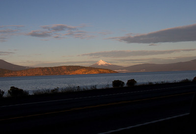 Mount McLoughlin from Klamath Falls-45 miles