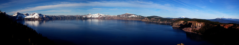 Crater Lake from Liao Point_Panorama1