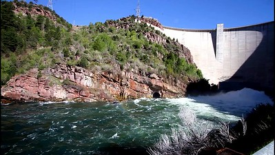 5-Flaming Gorge Dam from downstream