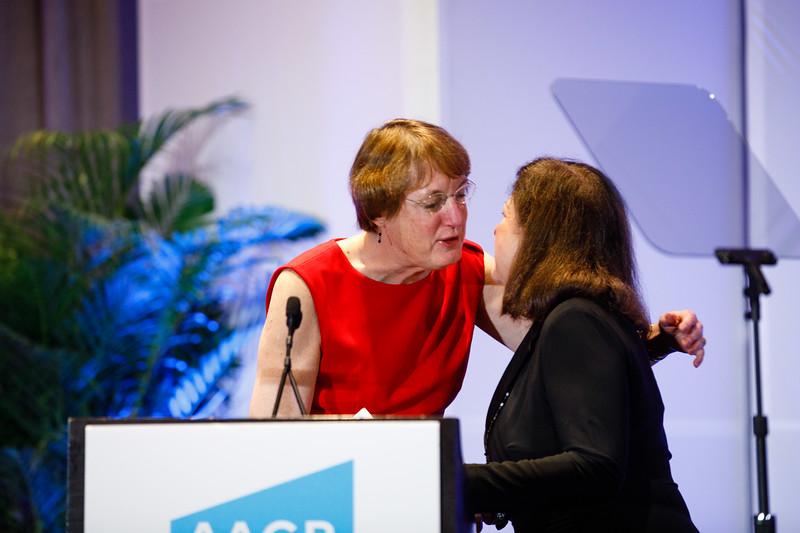 Nancy Davidson, MD, speaks during Grants Reception and Dinner