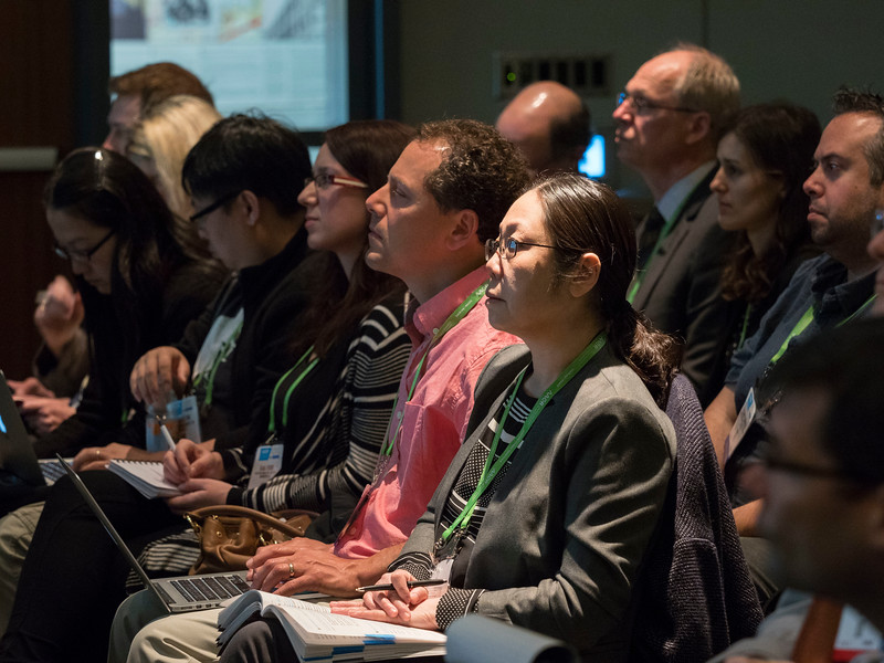 Speakers during Pancreatic Cancer Action Network-AACR Research Grants Presentation and Poster Session
