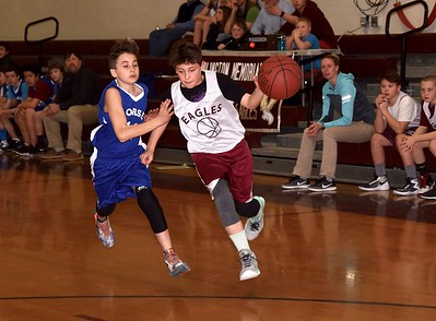2017 AMHS M.S. Boys Basketball vs Dorset photos by Gary Baker