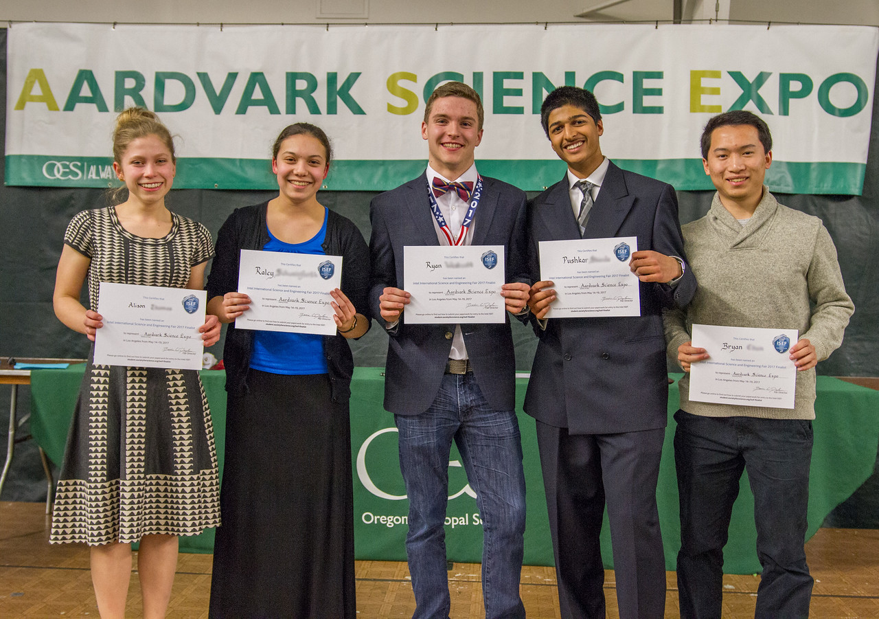Left to right: Alison T., Raley S., Ryan W., Pushkar S., Bryan C.