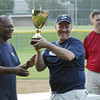 STAN HUDY - SHUDY@DIGITALFIRSTMEDIA.COM<br /> Saratoga Little League president Derrick Legall and Julie & Co. Realty Coach Rob Kelly