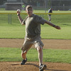 STAN HUDY - SHUDY@DIGITALFIRSTMEDIA.COM<br /> First pitch Adirondack Cup minors championship game.