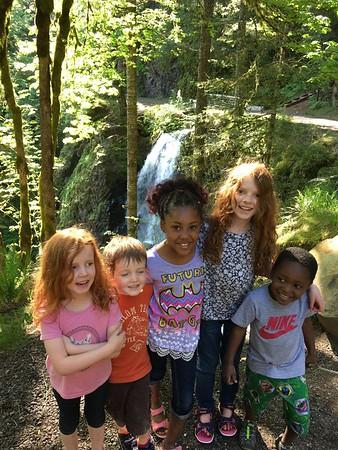 Hiking Shellburg Falls