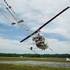 A helicopter gives free rides to kids between the ages of 8 and 17 during the Fitchburg Airport Aero Fair hosted by the Fitchburg Pilots Association at the Fitchburg Municipal Airport on Sunday June 11, 2017.  SENTINEL & ENTERPRISE/JEFF PORTER