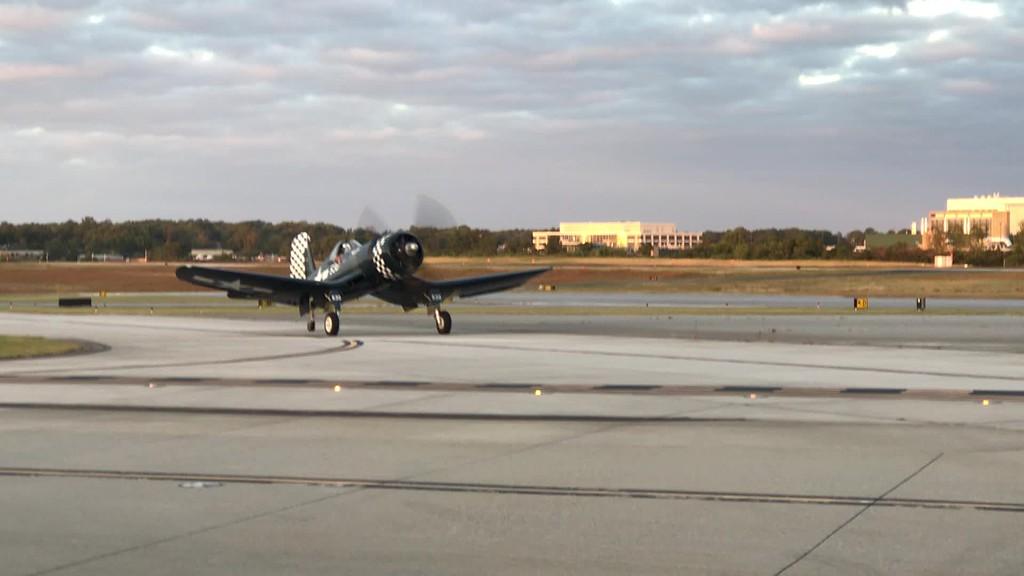Corsair Arrival