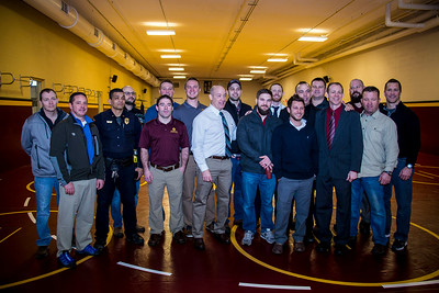 Don and Diane Henry Wrestling Room Dedication and Blessing