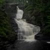 A section of Raymondskill Falls on Raymondskill Creek in Dingmans Ferry, Pa. photographed on Sunday, July 23, 2017.