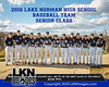 2016 LNHS Baseball Seniors