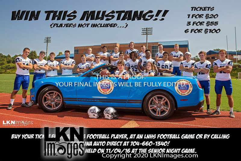 Win this Mustang 4x6 small