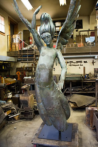 "Jeffrey Sass, Sculptor ""Angel of Bethesda"" Restoration"