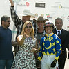 Lara Sawaya and Keiber Coa (Paddys Day jockey)