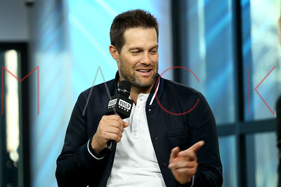 """NEW YORK, NY - APRIL 13:  Build Series Presents Geoff Stults Discussing """"Unforgettable"""" at Build Studio."""