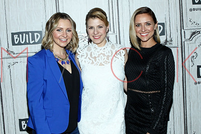 """NEW YORK, NY - APRIL 03:  Build Series Presents Beverley Mitchell, Christine Lakin and Jodie Sweetin """"Hollywood Darlings"""" at Build Studio."""