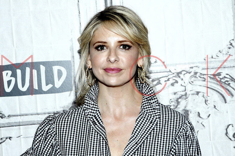 """Sarah Michelle Gellar visits the BUILD Speaker Series discussing """"Stirring Up Fun With Food"""", New York, USA"""