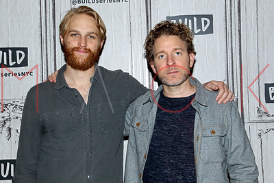 """NEW YORK, NY - APRIL 27:  Build Series Presents Wyatt Russell and Jeff Grace Discussing """"Folk Hero & Funny Guy"""" at Build Studio."""