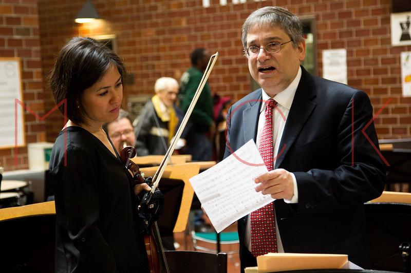The New York Metropolitan Opera Orchestra performs