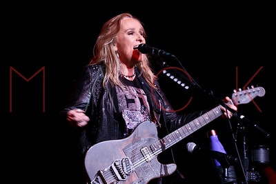 Kingston, NY - December 16 2017:  The Saturday, Dec 16, 2017 Melissa Etheridge Concert at Ulster Performing Arts Center.