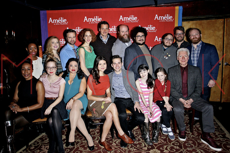 """Amelie"" Broadway Musical Sneak Peek Concert, New York, USA"