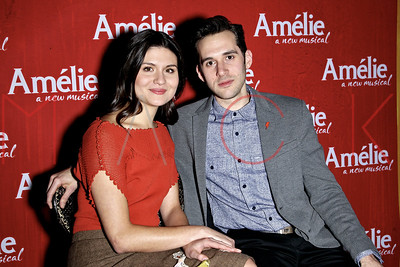 "New York, NY - February 10:  The ""Amelie"" Broadway Musical Sneak Peek Concert, New York, USA."