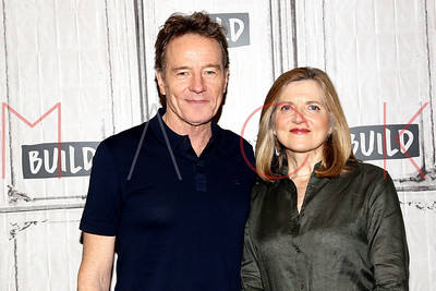 """NEW YORK, NY - MAY 19:  Build presents Bryan Cranston and Robin Swicord discussing the new film """"Wakefield"""" at Build Studio."""