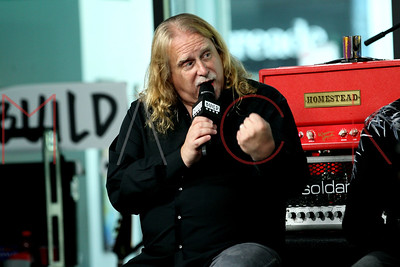 """NEW YORK, NY - MAY 15:  Build Presents members of the band Gov't Mule discussing their 10th studio album, """"Revolution Come...Revolution Go"""" at Build Studio."""