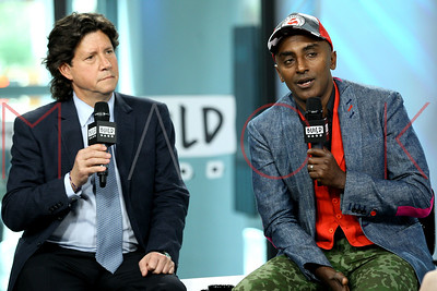 NEW YORK, NY - MAY 15:  Build Presents Herb Karlitz and Marcus Samuelsson discussing The Harlem EatUp! Festival at Build Studio.