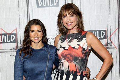 "NEW YORK, NY - NOVEMBER 01:  Build presents Danica Patrick and Hannah Storm discussing ""Danica"" at Build Studio."