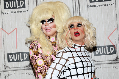 "NEW YORK, NY - NOVEMBER 01:  Build presents Trixie Mattel and Katya Zamolodchikova discussing ""The Trixie & Katya Show"" at Build Studio."