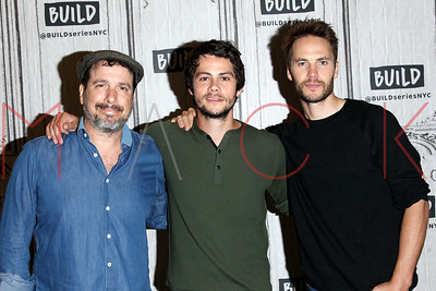 """NEW YORK, NY - SEPTEMBER 06:  Build presents Michael Cuesta, Dylan O'Brien and Taylor Kitsch discussing """"American Assassin"""" at Build Studio."""