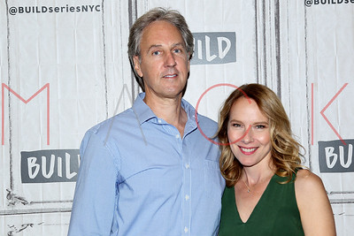 """NEW YORK, NY - SEPTEMBER 28:  Build presents Angus MacLachlan and Amy Ryan discussing the film """"Abundant Acreage Available"""" at Build Studio."""