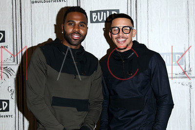 NEW YORK, NY - SEPTEMBER 14:  Build presents Antonio Brown and Jason Derulo discussing The Level 13 Fashion Line at Build Studio.