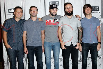 """NEW YORK, NY - SEPTEMBER 08:  Build presents  August Burns Red discussing their latest album """"Phantom Anthem"""" at Build Studio."""