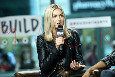 """NEW YORK, NY - SEPTEMBER 20:  Build presents Lindsay Arnold and Jordan Fisher discussing the 25th season of """"Dancing With The Stars at Build Studio."""