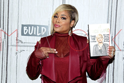 """NEW YORK, NY - SEPTEMBER 13:  Build presents Tionne """"T-Boz"""" Watkins discussing """"A Sick Life: TLC 'n Me: Stories From On And Off The Stage"""" at Build Studio."""