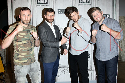 """NEW YORK, NY - SEPTEMBER 14:  Build presents actor Jamie Crowder, producer Craig DiBase, directors Henry Roosevelt and W.B. Zullo discussing """"Tough Guys"""" at Build Studio."""