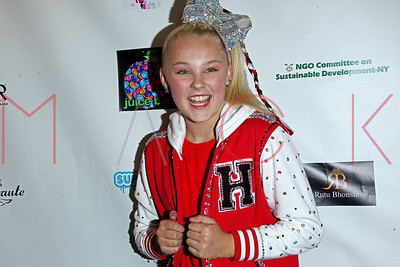 NEW YORK, NY - SEPTEMBER 12:  Jojo Siwa of Dance Moms hosts the Carol Calvin Foundation event presented by Bound by the Crown NYFW at PlayStation Theater.