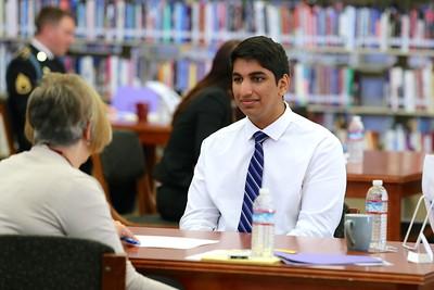 Whitney student Arjun Randhawa
