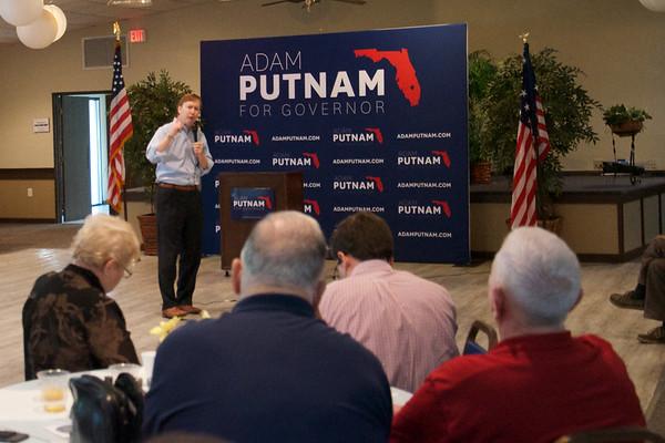 2017 Aug 23 Up and Adam Breakfast for Adam Putnam