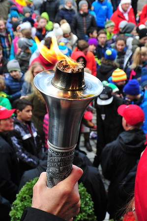 2017-03-10 Kitzbuhel Torch Run/Ceremony
