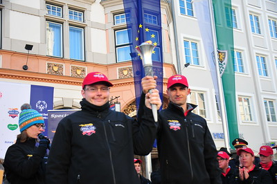 2017-03-12 Braunau Torch Run/Ceremony