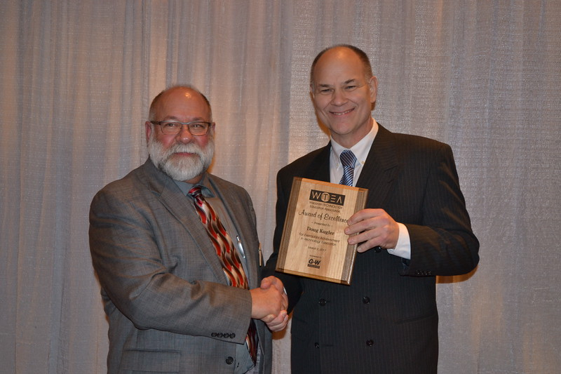 Doug Kuger, Award of Excellence with Joe Ciontea, WTEA
