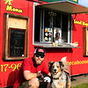 Adam Stahl and Smokey<br /> The Juice Caboose   76107Magazine