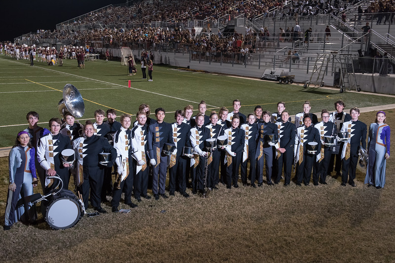 Band Seniors, Class of 2018